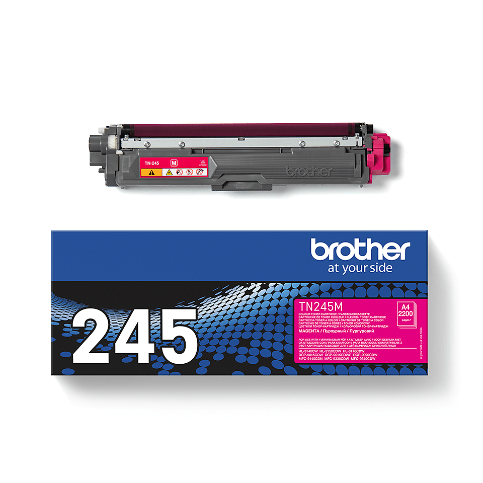 Genuine Brother TN-245M Toner Cartridge – Magenta  3