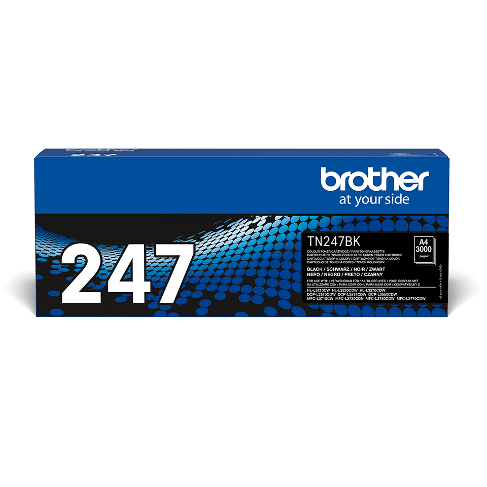 Genuine Brother TN-247BK Toner Cartridge - Black 2