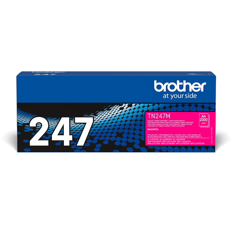 Genuine Brother TN-247M Toner Cartridge - Magenta 2