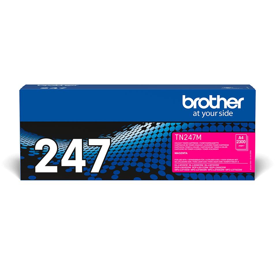 Genuine Brother TN-247M Toner Cartridge - Magenta