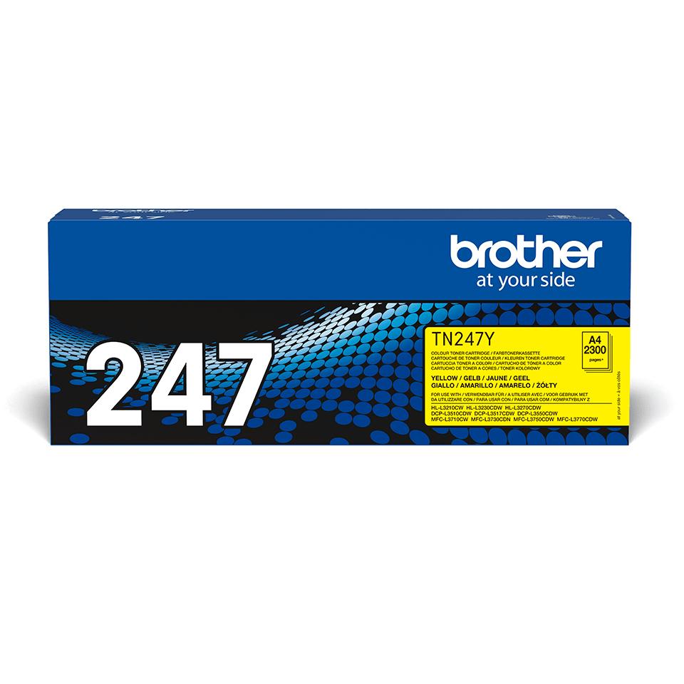 Genuine Brother TN-247Y Toner Cartridge - Yellow