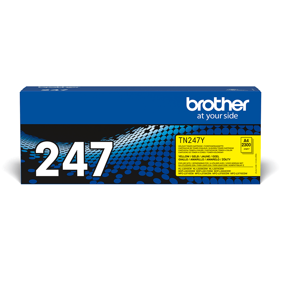 Genuine Brother TN-247Y Toner Cartridge - Yellow