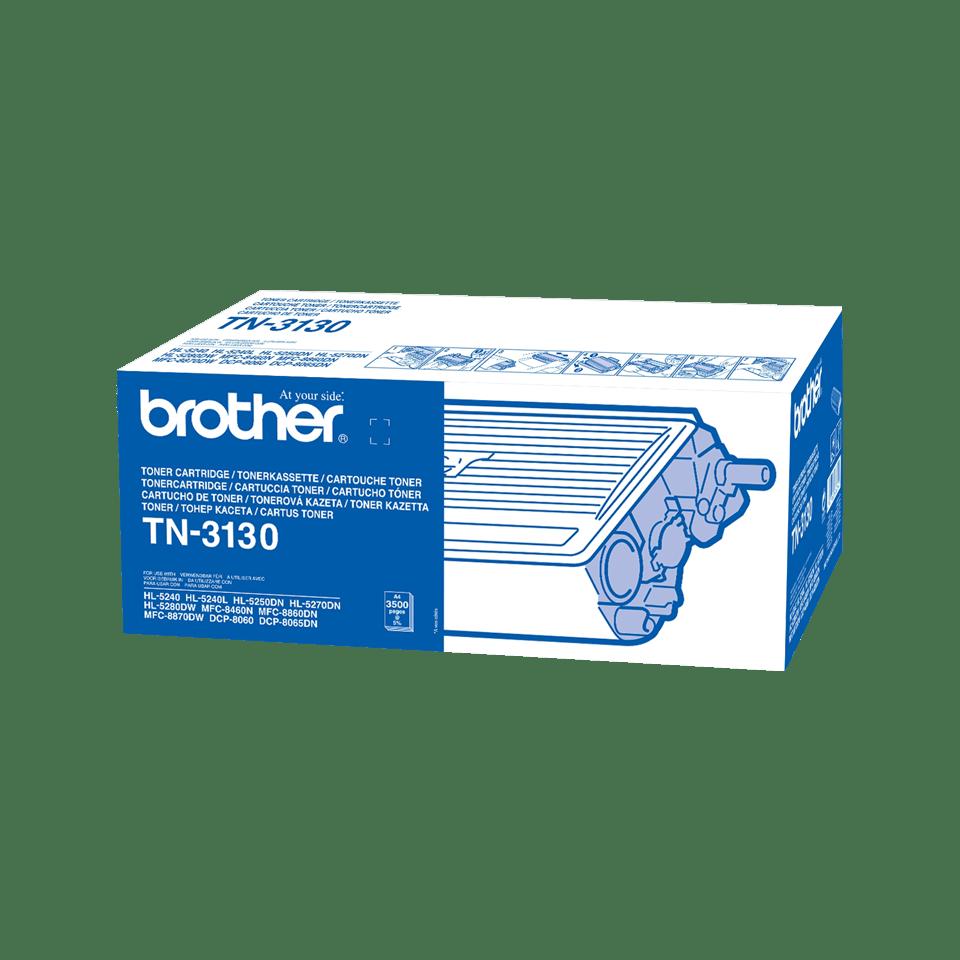 Genuine Brother TN-3130 High Yield Toner Cartridge – Black
