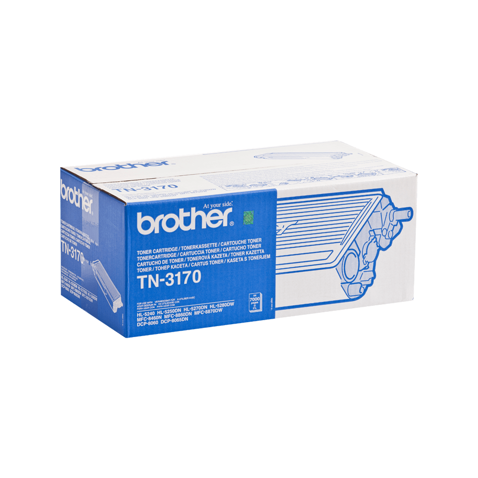 Genuine Brother TN-3170 High Yield Toner Cartridge – Black 2