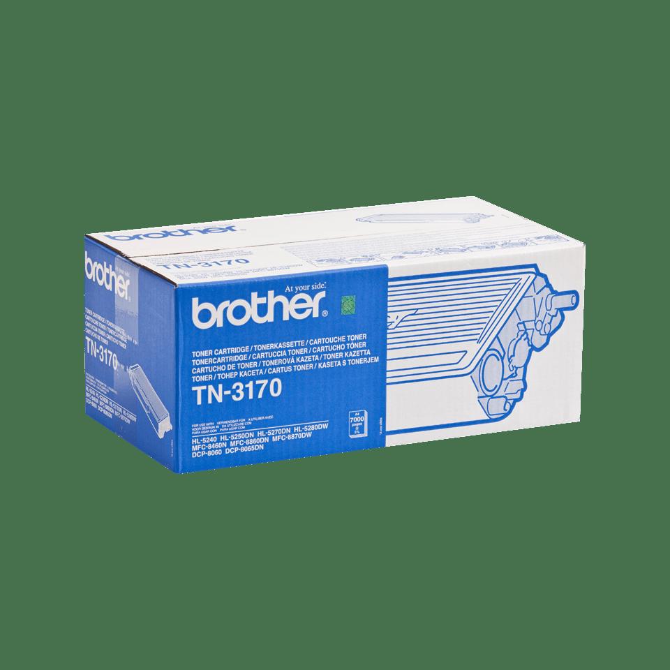 Genuine Brother TN-3170 High Yield Toner Cartridge – Black 2