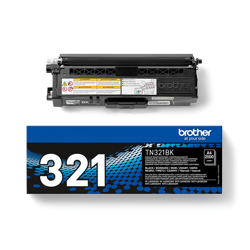 Genuine Brother TN-321BK Toner Cartridge – Black 2