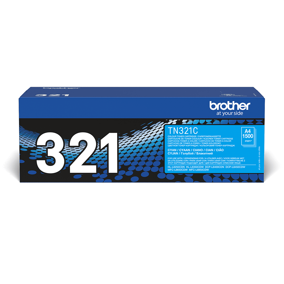 Genuine Brother TN-321C Toner Cartridge – Cyan 2