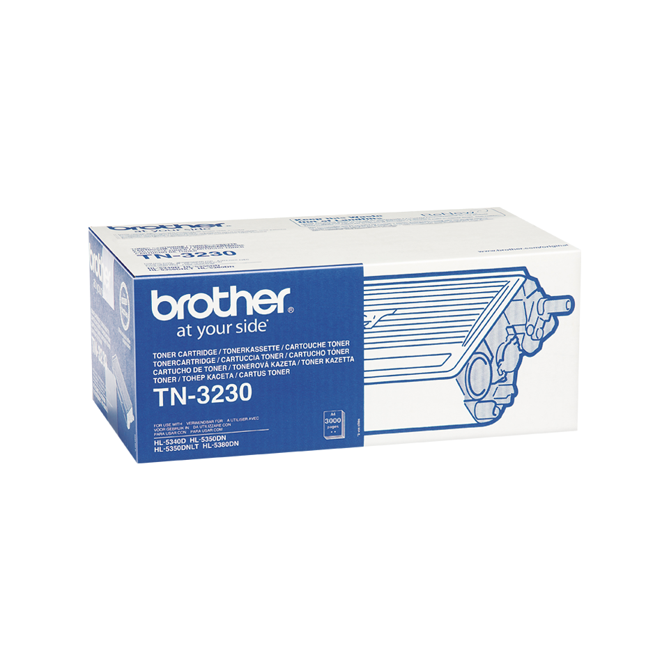 Genuine Brother TN3230 Toner Cartridge – Black 1