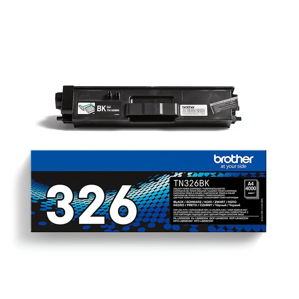 Genuine Brother High Yield TN326BK Toner Cartridge – Black  2