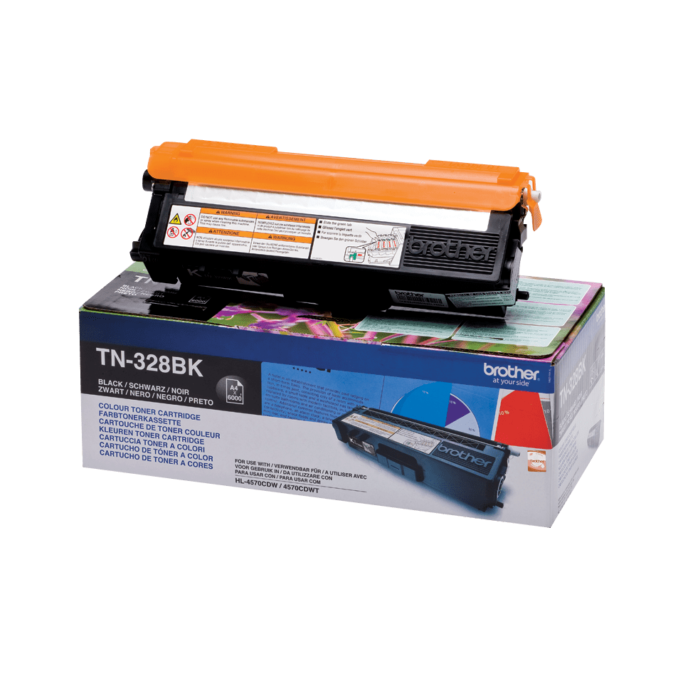 Genuine Brother TN-328BK Toner Cartridge – Black 2