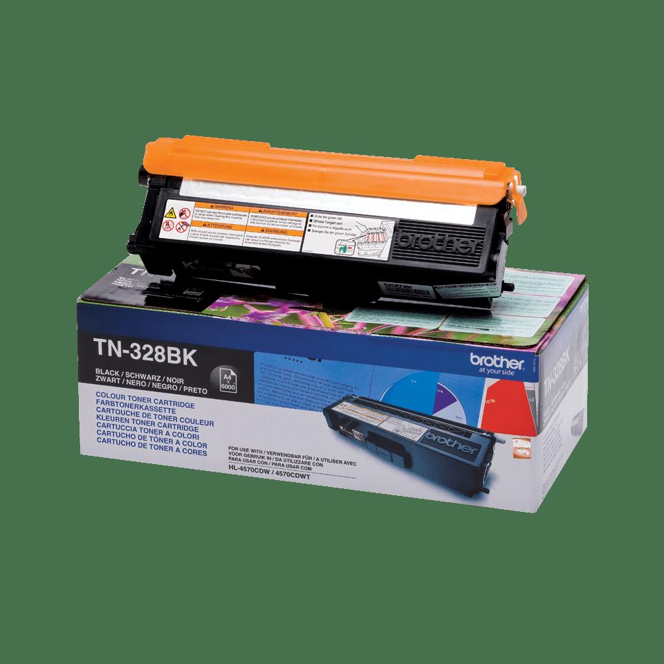 Genuine Brother TN-328BK Toner Cartridge – Black 2