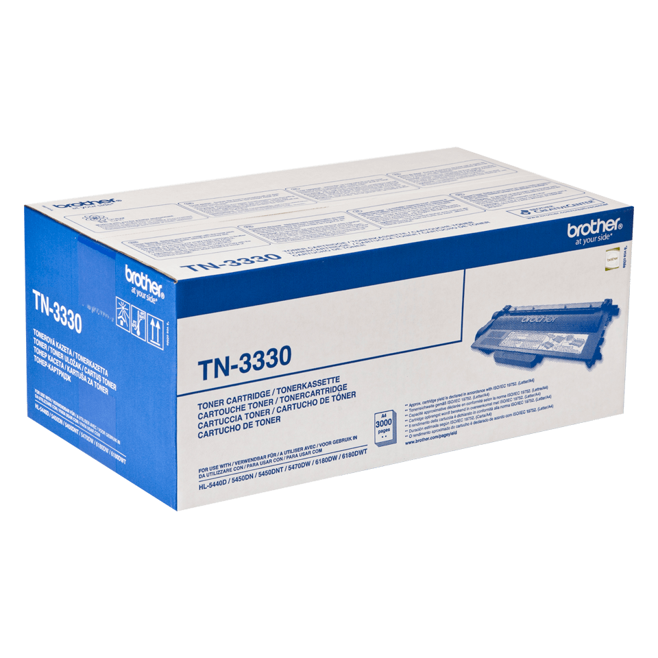 Genuine Brother TN-3330 Toner Cartridge – Black  2
