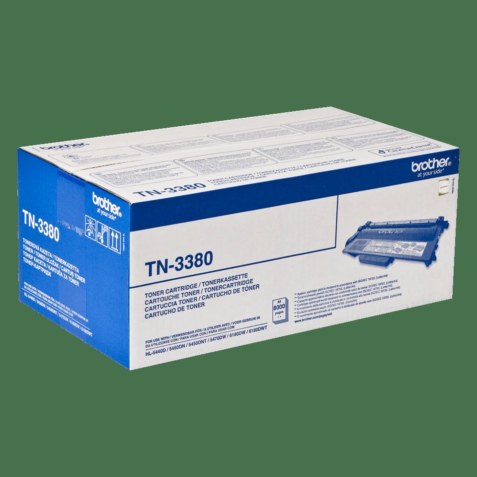 Genuine Brother TN3380 High Yield Toner Cartridge – Black 2
