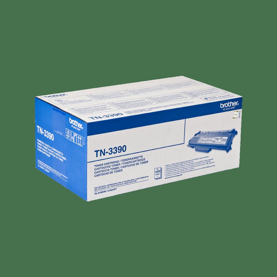 Genuine Brother TN-3390 High Yield Toner Cartridge – Black 2