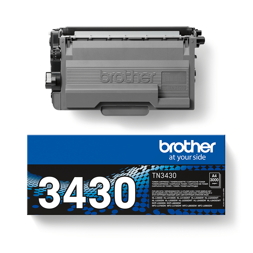 Genuine Brother TN-3430 Toner Cartridge – Black 2