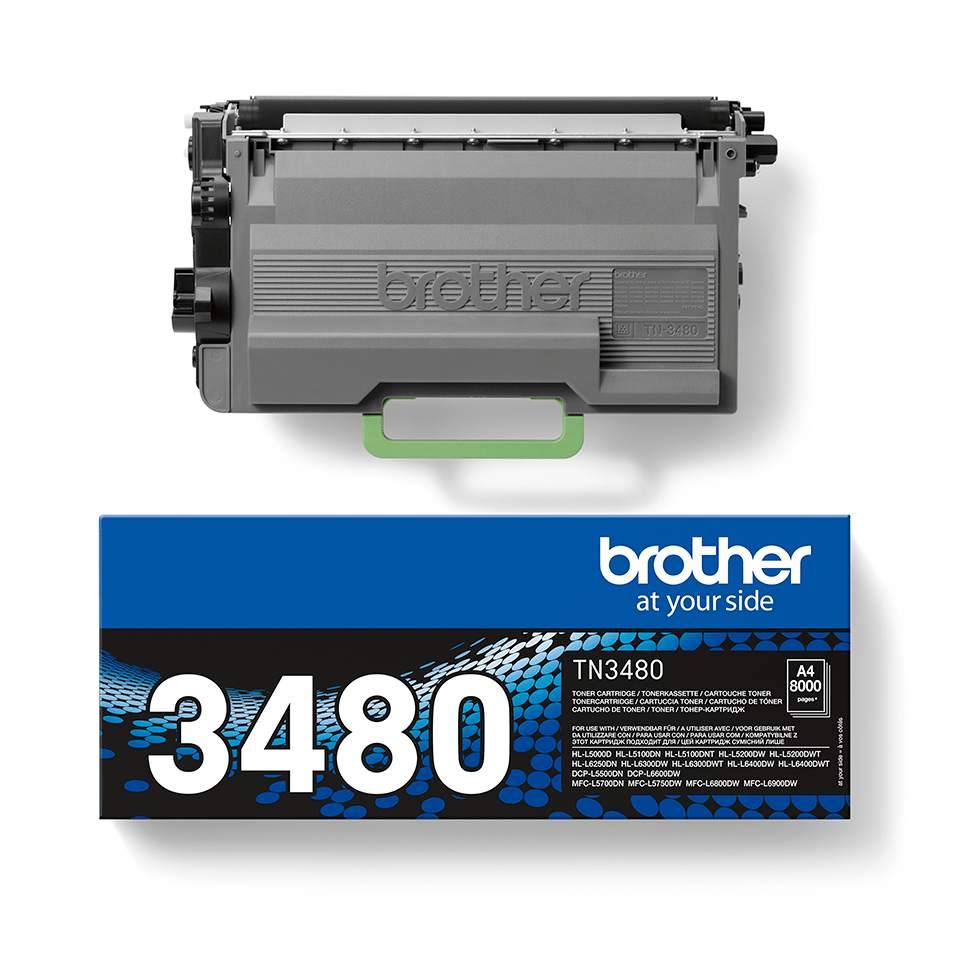 Genuine Brother TN3480 Toner Cartridge – Black 2