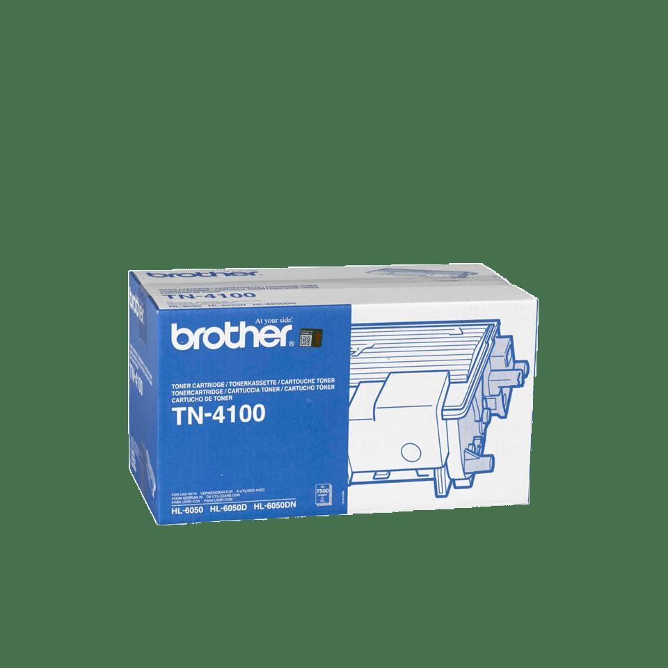 Genuine Brother TN-4100 High Yield Toner Cartridge – Black