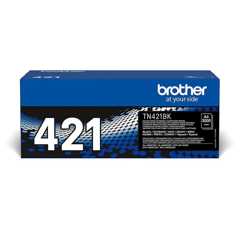 Genuine Brother TN421BK Toner Cartridge – Black