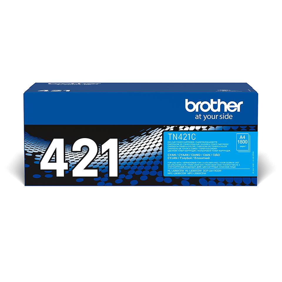 Genuine Brother TN421C Toner Cartridge – Cyan 2