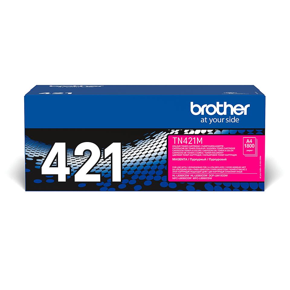 Genuine Brother TN421M Toner Cartridge – Magenta
