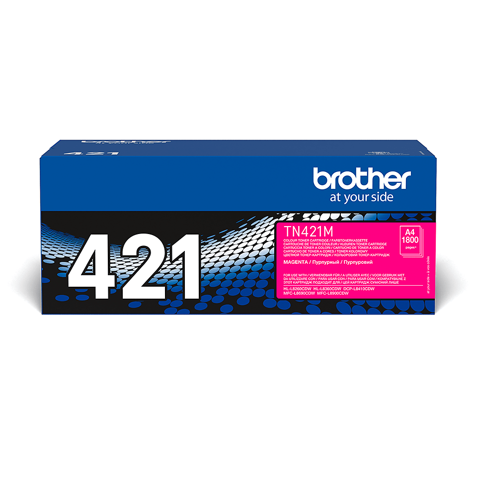 Genuine Brother TN421M Toner Cartridge – Magenta