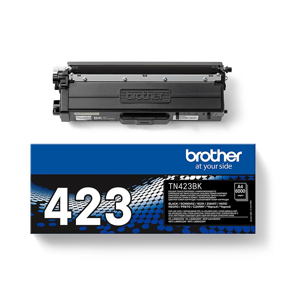 Genuine Brother TN-423BK Toner Cartridge – Black 2