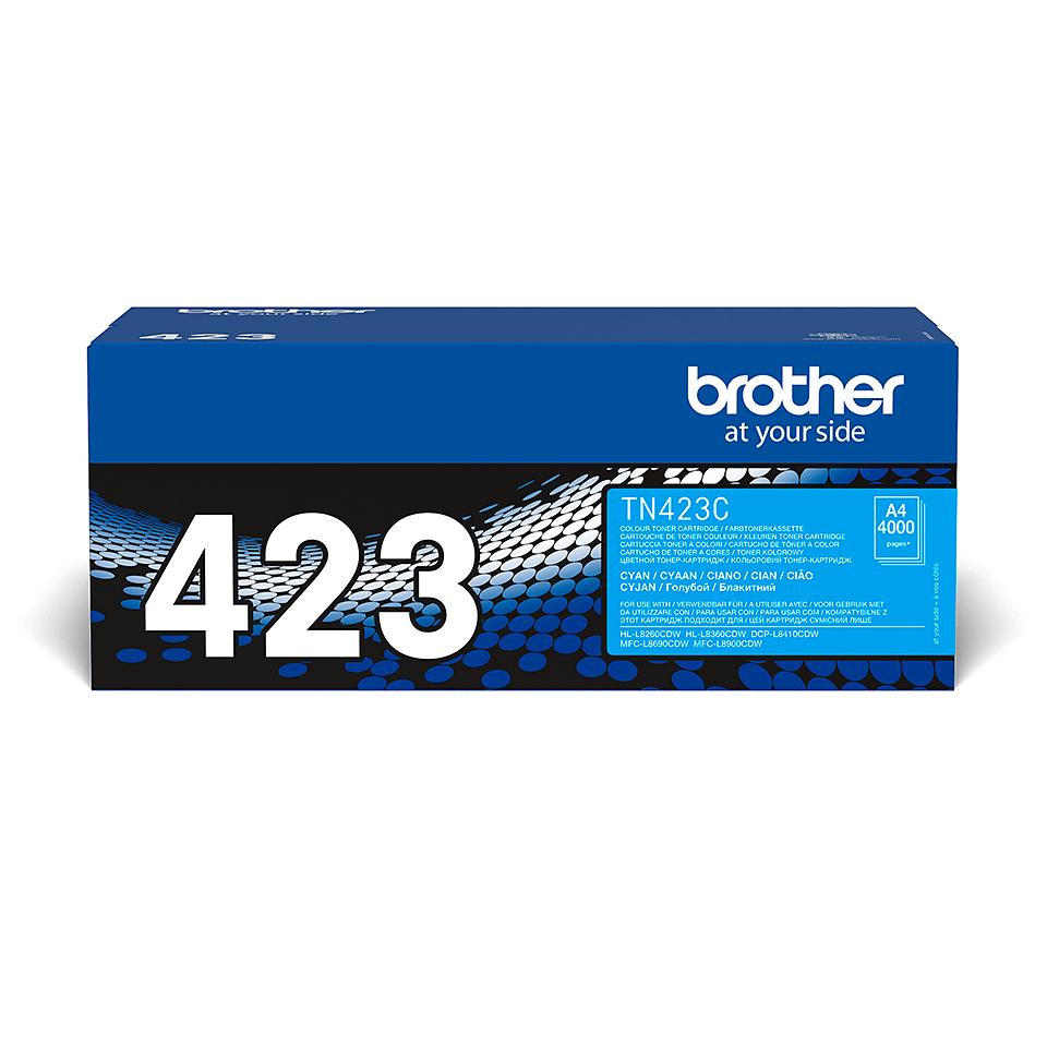 Genuine Brother TN-423C Toner Cartridge – Cyan