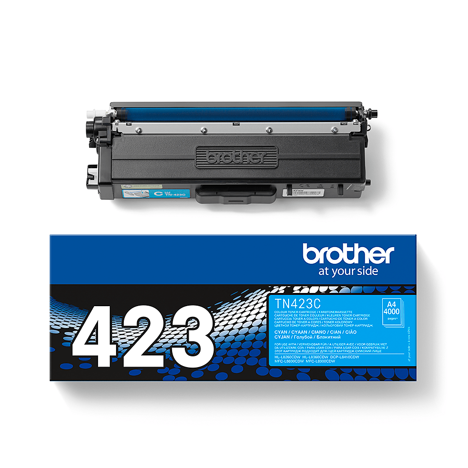 Genuine Brother TN-423C Toner Cartridge – Cyan 2