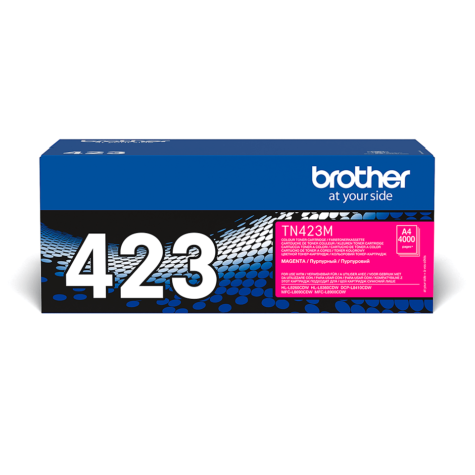 Genuine Brother TN-423M Toner Cartridge – Magenta