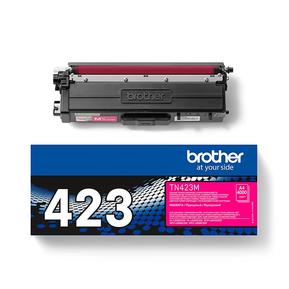 Genuine Brother TN-423M Toner Cartridge – Magenta 1