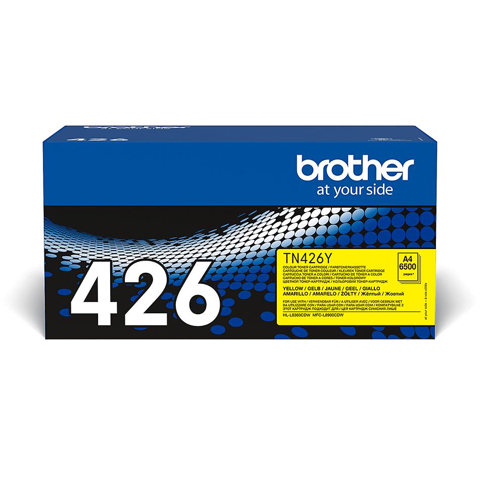 Genuine Brother TN-426Y Toner Cartridge – Yellow
