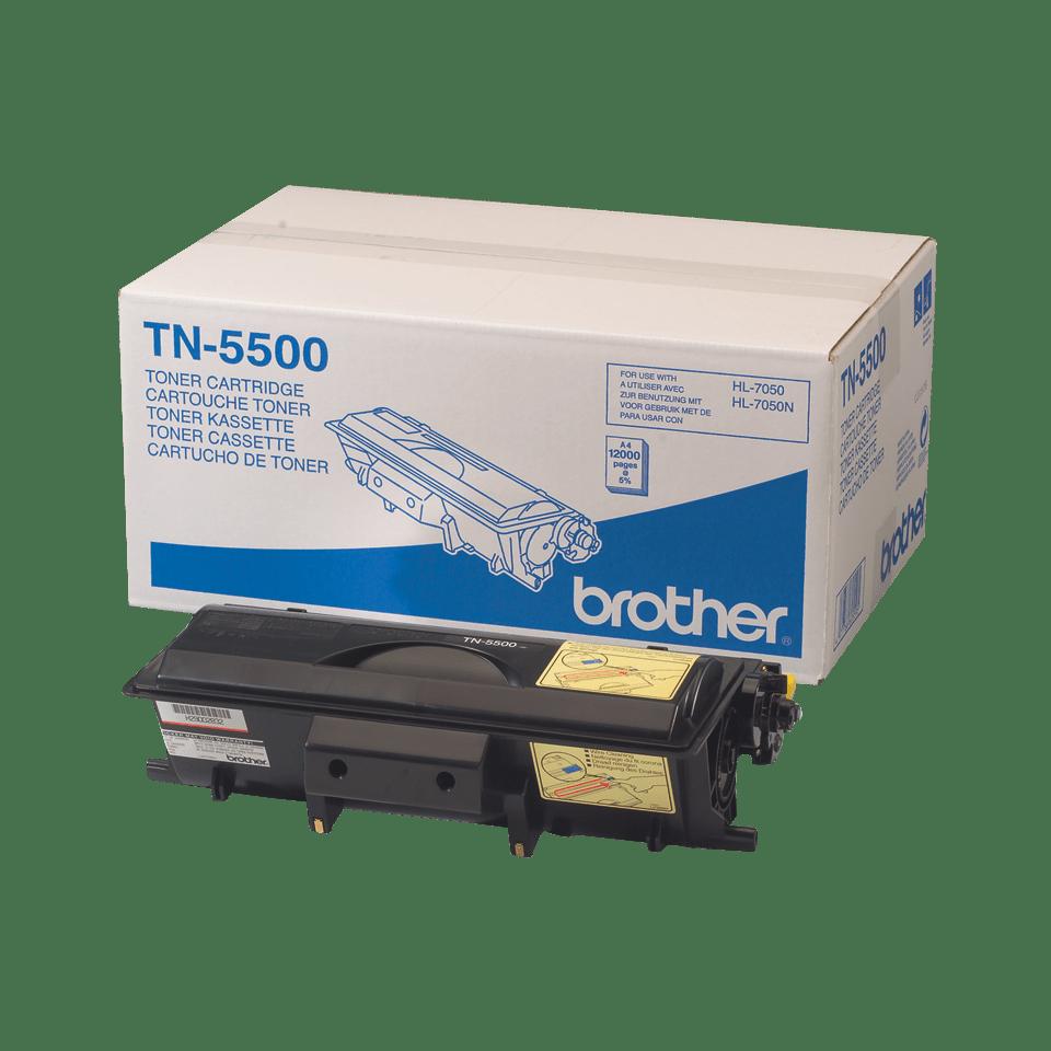 Genuine Brother TN-5500 High Yield Toner Cartridge – Black