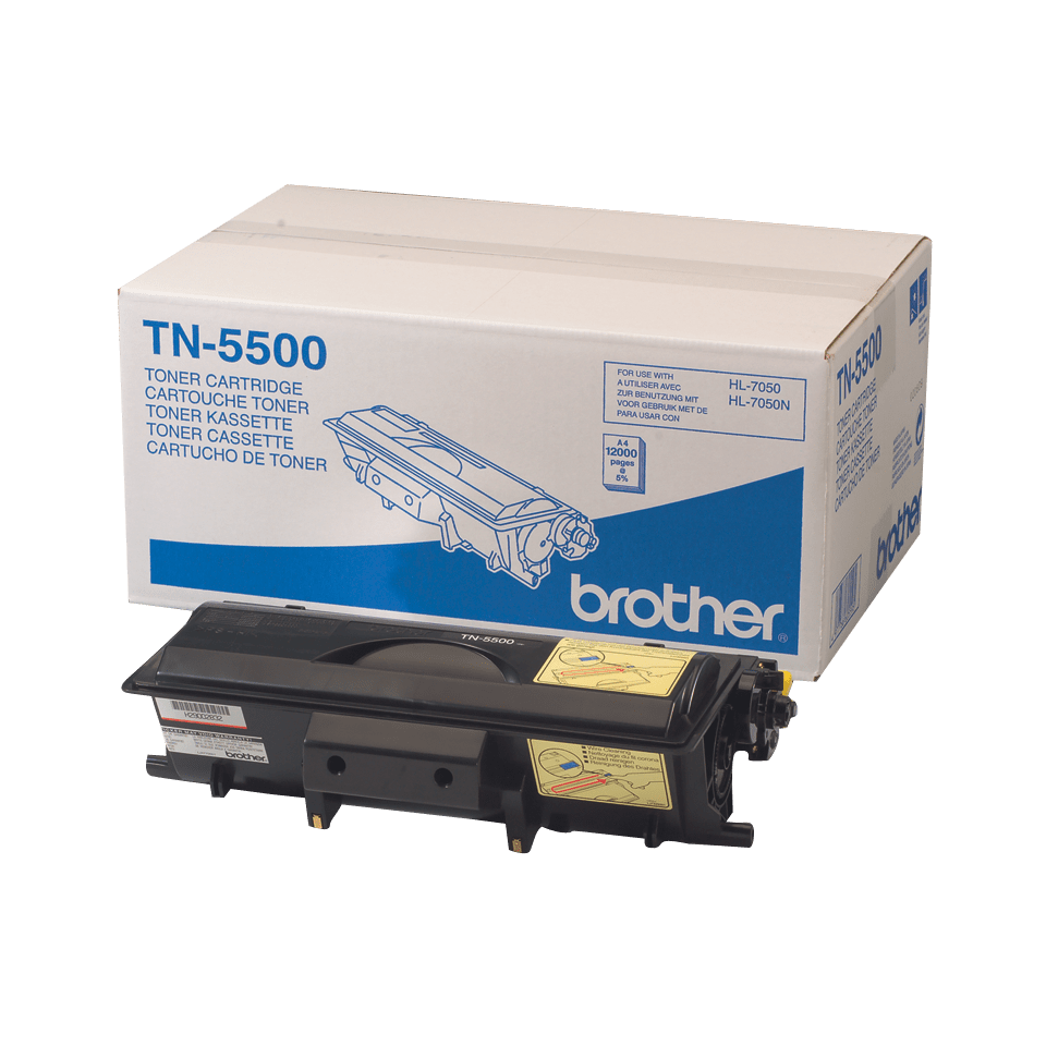 Genuine Brother TN-5500 High Yield Toner Cartridge – Black