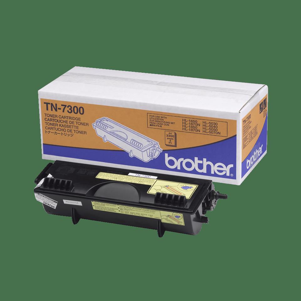 Genuine Brother TN-7300 High Yield Toner Cartridge – Black