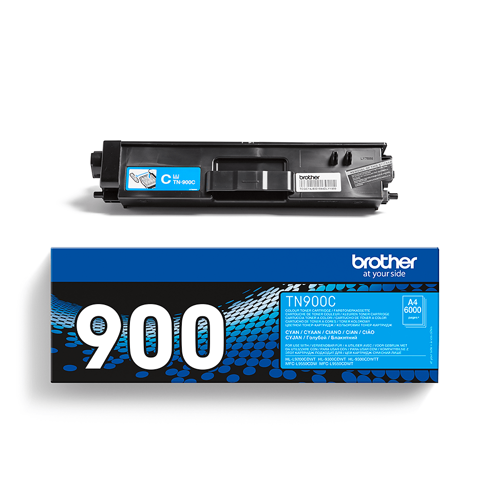 Genuine Brother TN-900C Toner Cartridge – Cyan 2