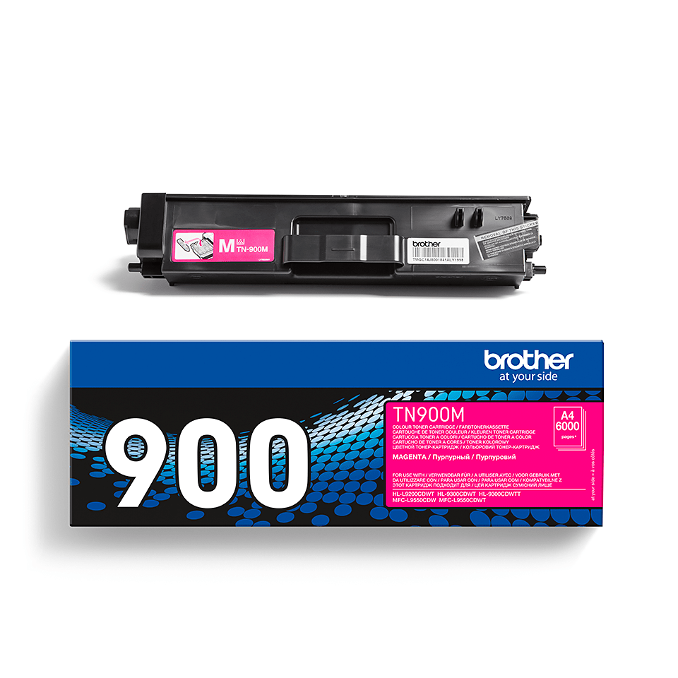 Genuine Brother TN900M Toner Cartridge – Magenta 2