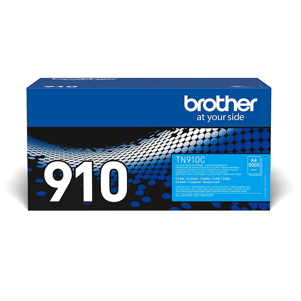 Genuine Brother TN-910C Toner Cartridge – Cyan 0