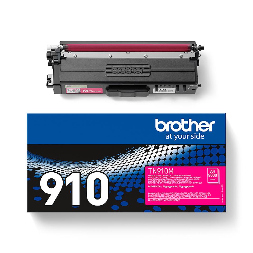 Genuine Brother TN-910M Toner Cartridge – Magenta 2