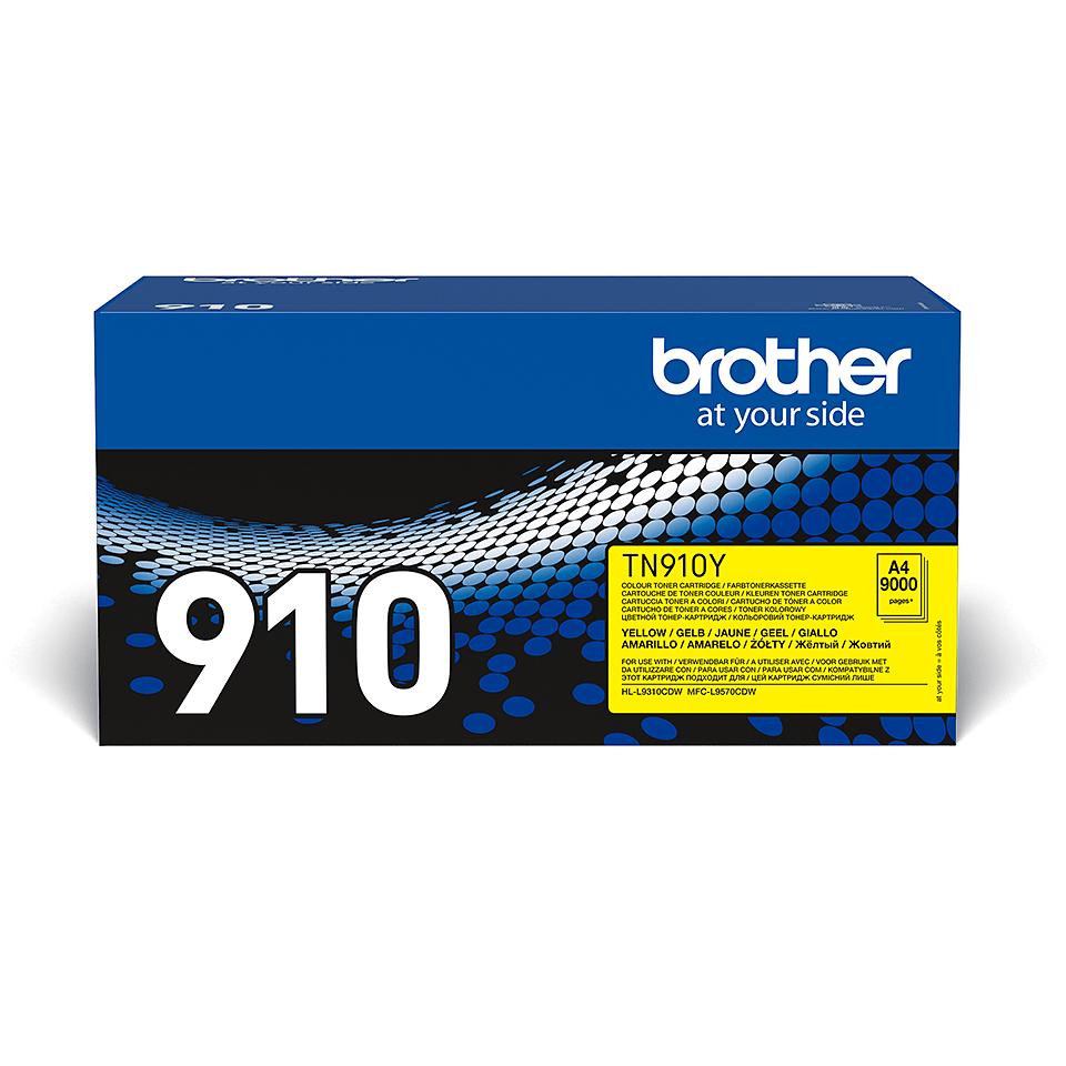 Genuine Brother TN-910Y Toner Cartridge – Yellow