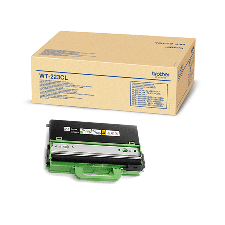 Genuine Brother WT-223CL Waste Toner Unit 2