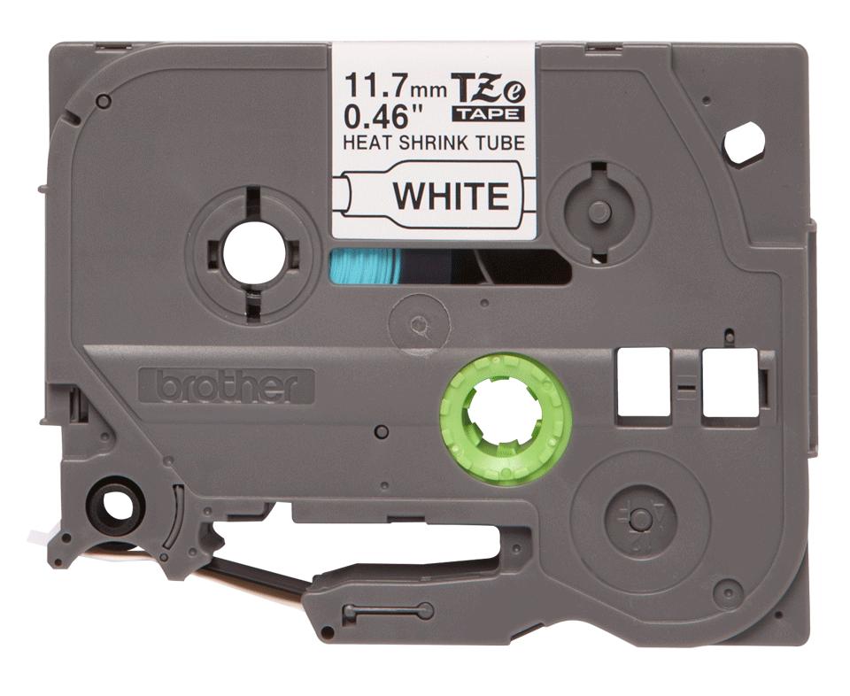 Genuine Brother HSe-231 Heat Shrink Tube Tape Cassette – Black on White, 11.7mm wide 2