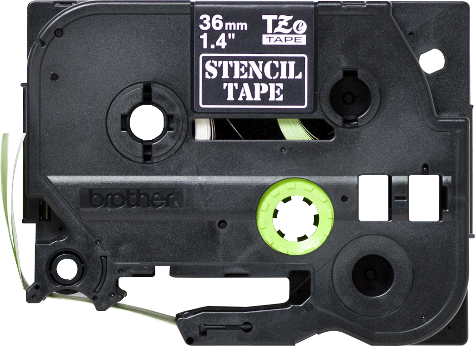 Genuine Brother STe-161 Stencil Tape Cassette – Black, 36mm wide