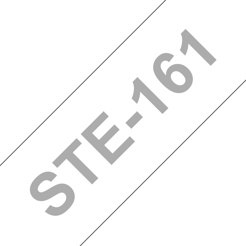 Genuine Brother STe-161 Stencil Tape Cassette – Black, 36mm wide 3