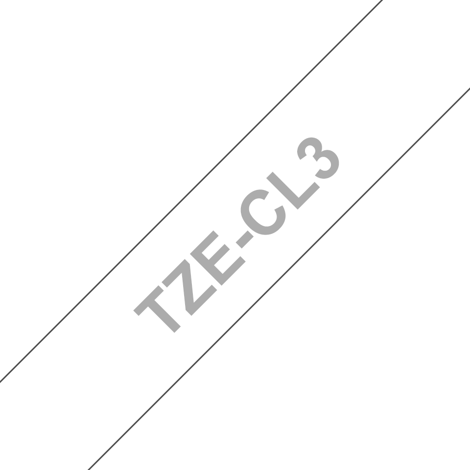 Brother TZe-CL3 Printhead Cleaning Tape Cassette – 12mm wide 3