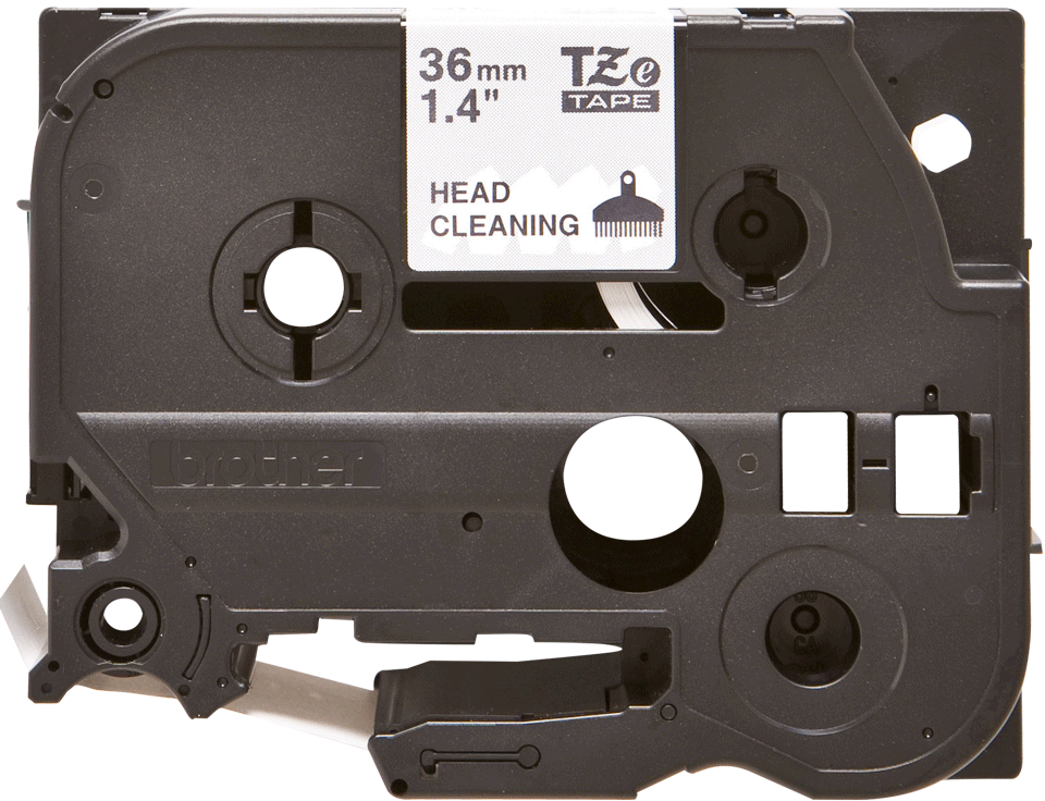 Brother TZe-CL6 Printhead Cleaning Tape Cassette – 36mm wide
