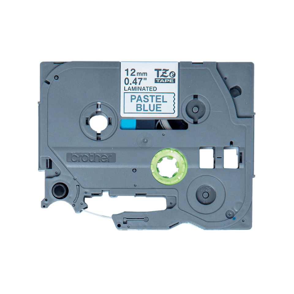 Genuine Brother TZe-MQ531 Labelling Tape Cassette – Black on Pastel Blue, 12mm wide 2