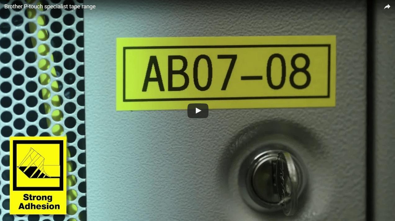 PT-E550WVP Electrician's Handheld Label Printer 3