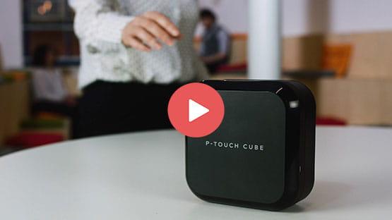PT-P710BT P-touch CUBE Plus 7