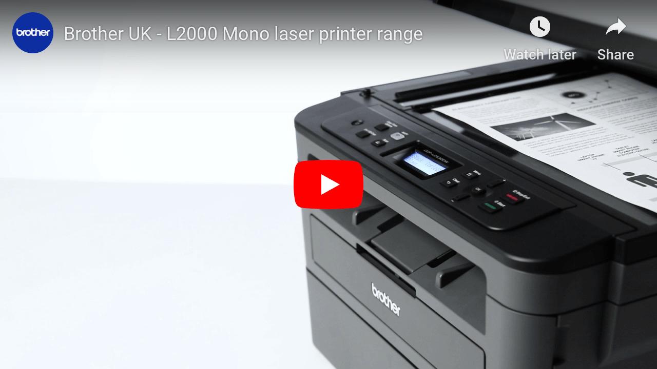 DCP-L2510D Compact 3-in-1 Mono Laser Printer 4