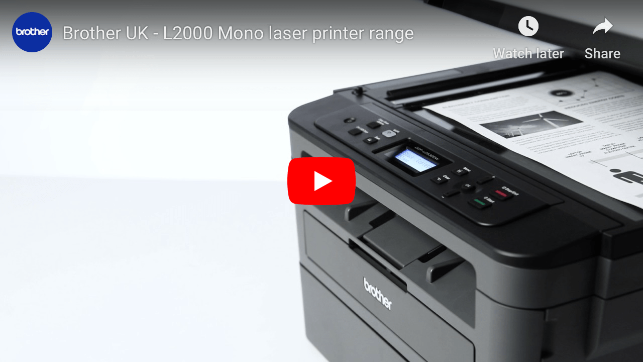 DCP-L2510D Compact 3-in-1 Mono Laser Printer 4
